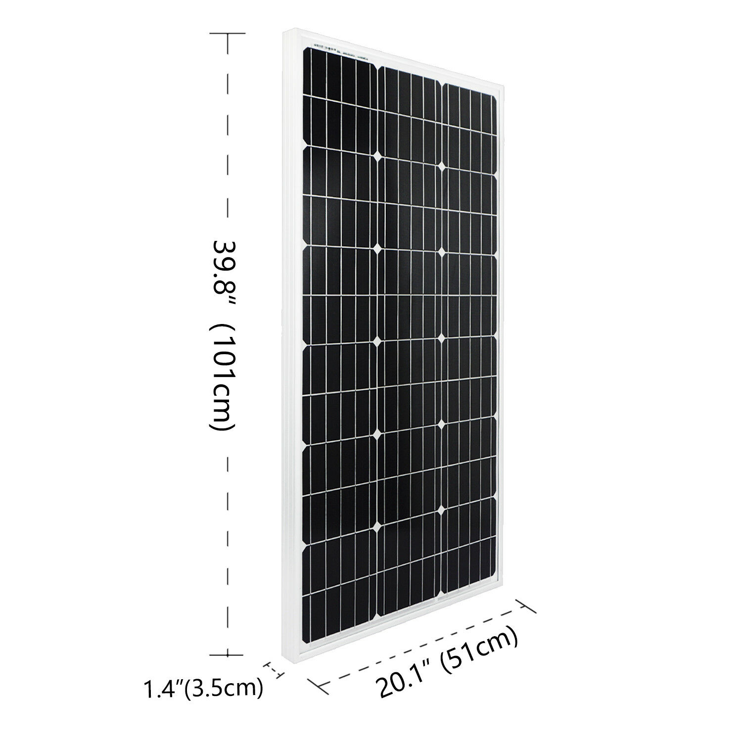 Image 3 - ECOworthy 200W mono Solar power system 2pcs 100w 18V monocrystalline panels with 20A solar controller for 12V battery charger-in Solar Energy Systems from Consumer Electronics