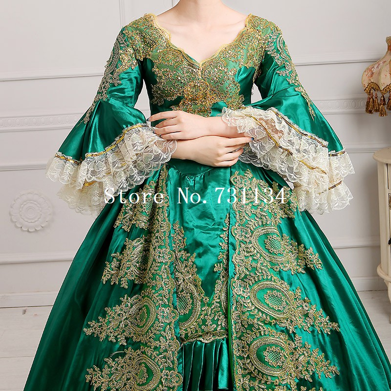 Aliexpress.com : Buy 2016 Royal Green Lace Dance Stage Costume ...