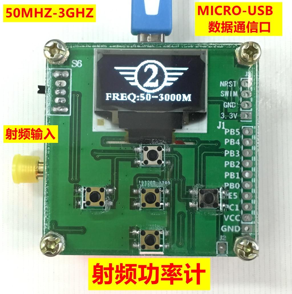 RF Power Meter 50-3000Mhz -45 to 5 DBm Star Finder