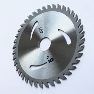 Image 3 - Free shipping 1PC decoration grade125*22/20*30/40Z TCT saw blade for wood/MDF/plastic cutting for home DIY decoration purpose
