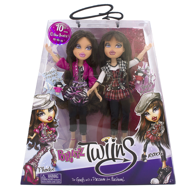 Original Boxed Twins Bratz Doll Dress Up Doll Best Gift For Girl