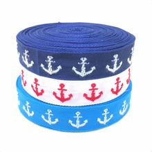5/8 16mmX10yards Zakka handmade accessories laciness ribbon Dark Blue sailor free shipping KTZD15102415