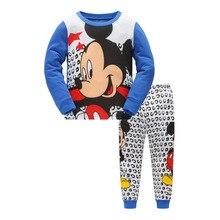 Купить с кэшбэком Children Christmas Pajamas Set Kids Baby Girls Boys Cartoon Bear Children Sleepwears Winter Warm Flannel Long Sleeve Sleep Wear