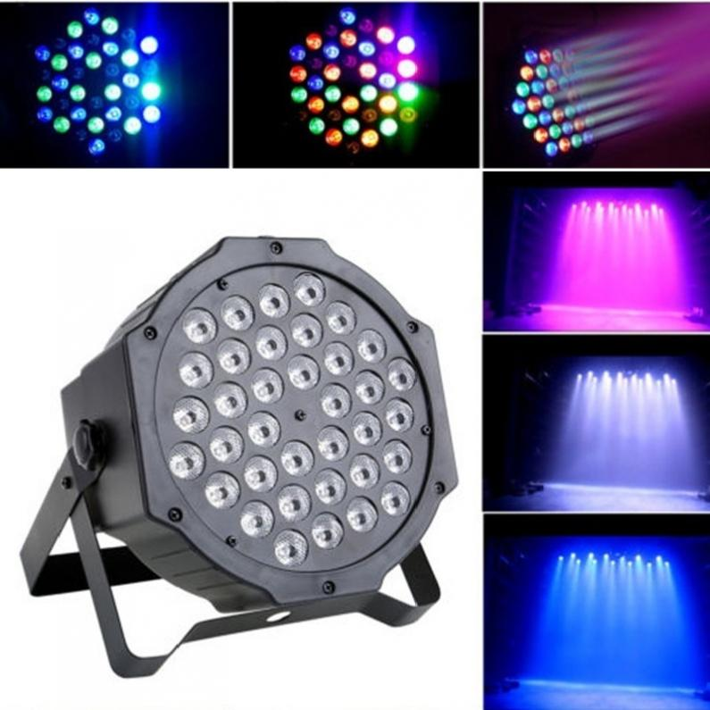 High Quality Par Can 36 RGB LED Stage Light Disco DJ Bar Effect UP Lighting Show DMX Strobe for Party KTV dmx led par lamp 54w rgb led stage par light 54leds wash dimming strobe lighting effect lights for disco dj party show