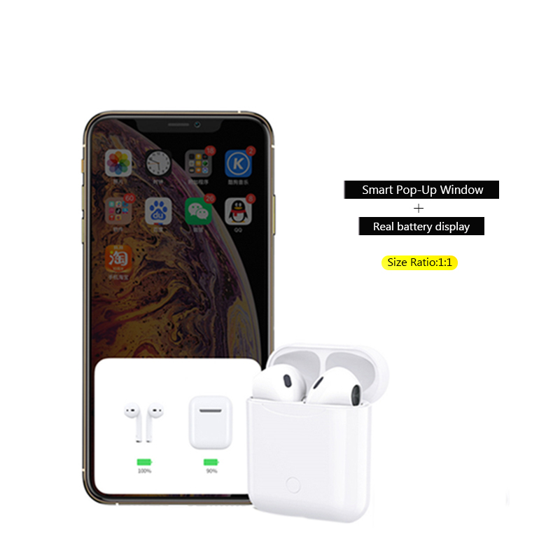 Image 2 - BANDE i12 Wireless Earbuds Portable Earphone High Sound Quality Headset For Iphone And Android-in Bluetooth Earphones & Headphones from Consumer Electronics