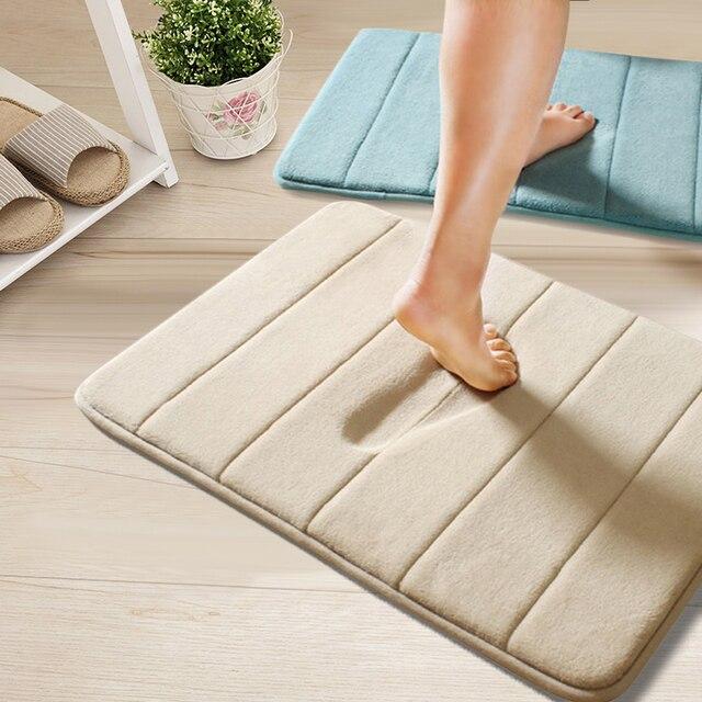 East 40*60 CM memory foam door mat rug carpet door mats floor mat ...
