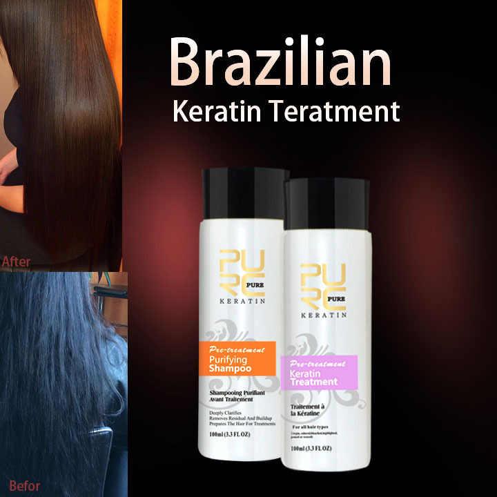 Brezilyalı çikolata keratin tedavisi formalin 5% saç düzleştirici seti Brezilyalı Saç saç maskesi ücretsiz kargo ev kullanımı 11.11