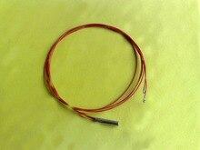Free Shipping 100pcs/lot Copper probe 5*25MM B3990 100K NTC Temperature Sensor 100K 1% 3990 300MM thermistor ntc100