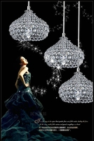Crystal Simple Modern Restaurant Pendant Lights For Dining Room Modern LED Lustres Pendant LampS