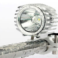 Electric Vehicle LED Headlight 15W 2000LM 6000K Scooter Fog Lights Daytime Running Lights DRL LED Work