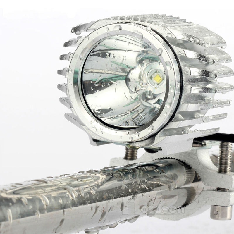 Electric Vehicle Led Headlight 15w 2000lm 6000k Scooter