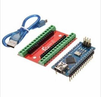 NANO IO font b Shield b font Expansion Board Nano V3 Improved Version With Cable For