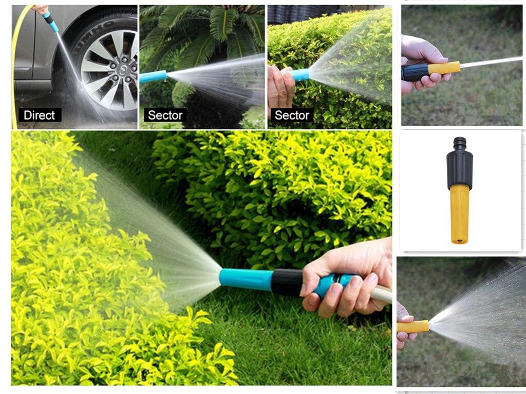 1Pc Plastic Multi-function Watering Sprinkler Family Cleaning Car Washing Direct Spray Gun Household Garden Watering Sprinkler