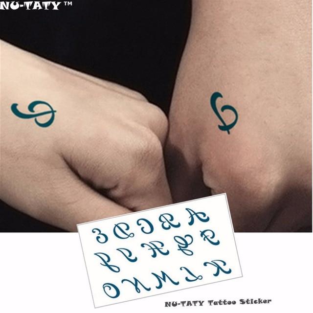 Nu Taty Small Symbol Flash Tattoo Hand Sticker 1056cm Small