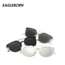 2017 New Cat Eye Sunglasses Fashion Women Mirror Sun Glass Sports Multicolor Polarized Female Driving Eyewear