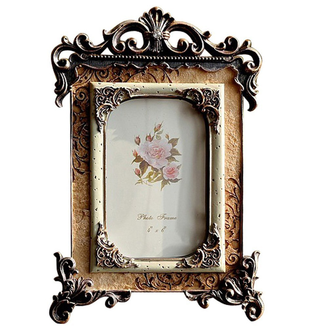 Giftgarden 8x10 Vintage Picture Frames Wedding Photo Golden Gift Table Ornaments