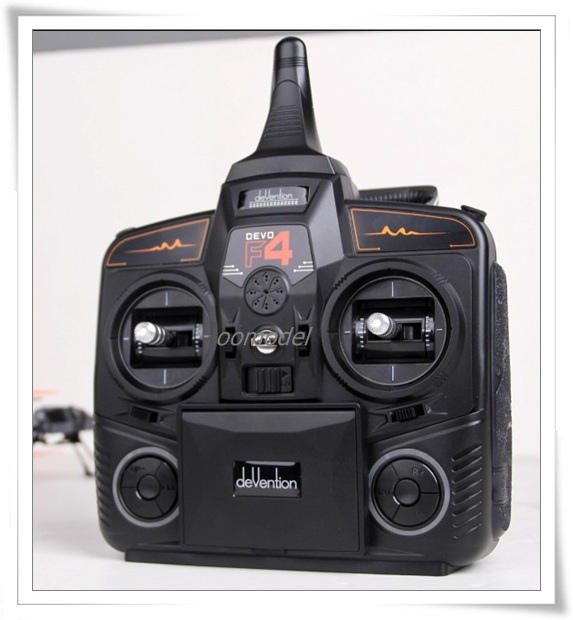 Walkera Devo F4 FPV Radio Walkera Devo F4 4 Channel Transmitter with Monitor free shipping with tracking walkera goggle2 fpv 5 8g 8ch video glasses with head tracking system ems free shipping