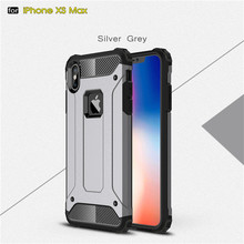 For iPhone xs Case Shockproof Armor Rubber Silicone Hard PC Phone Case For iPhone 7 8 Plus 6 6s or iPhone xr x Full Protective pc 268 shockproof dustproof protective silicone case w stand for iphone 6 4 7 army green