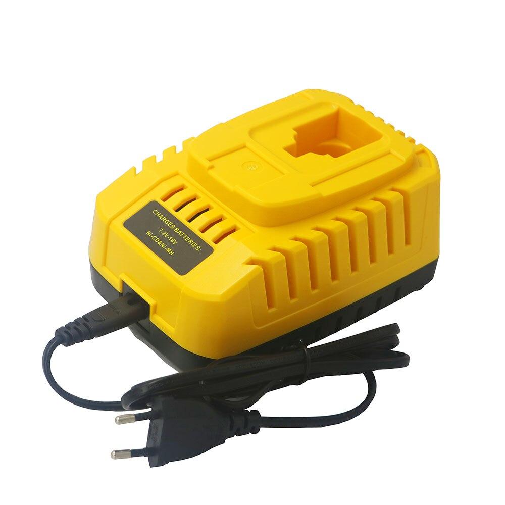 DVISI pour Dewalt chargeur NI-CD NI-MH batterie 7.2 V 9.6 V 14.4 V 18 V pour DC9310 DW9116 DE9130 DE9310 accessoire perceuse électrique
