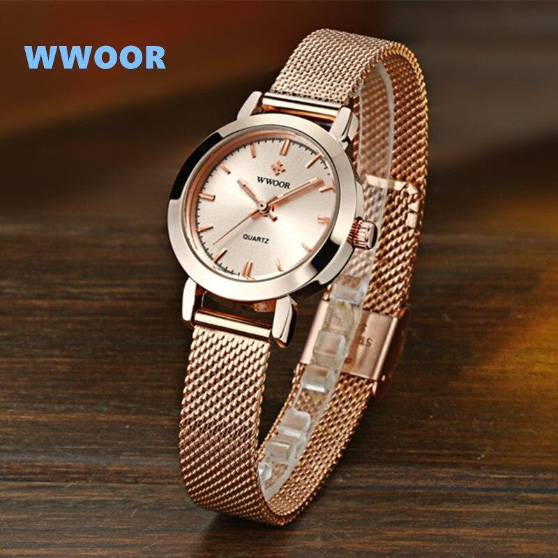 0e7225f2d5d Pulseira Relógios das Mulheres Relógios de Pulso para Mulheres Wwoor ...