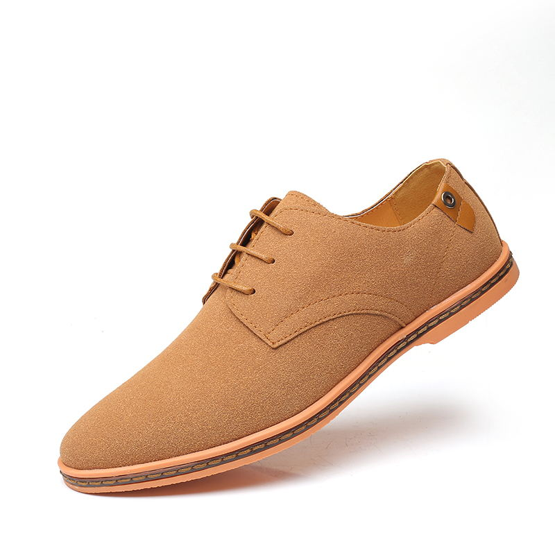 HTB1CZ.HX7WE3KVjSZSyq6xocXXaG - VESONAL Brand Spring Suede Leather Men Shoes Oxford Casual Classic Sneakers For Male Comfortable Footwear Big Size 38-46