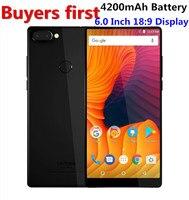 Vernee Mix 2 Mobile Phone 6GB 4GB RAM 64GB ROM MTK6757 Octa Core 6 0 Inch
