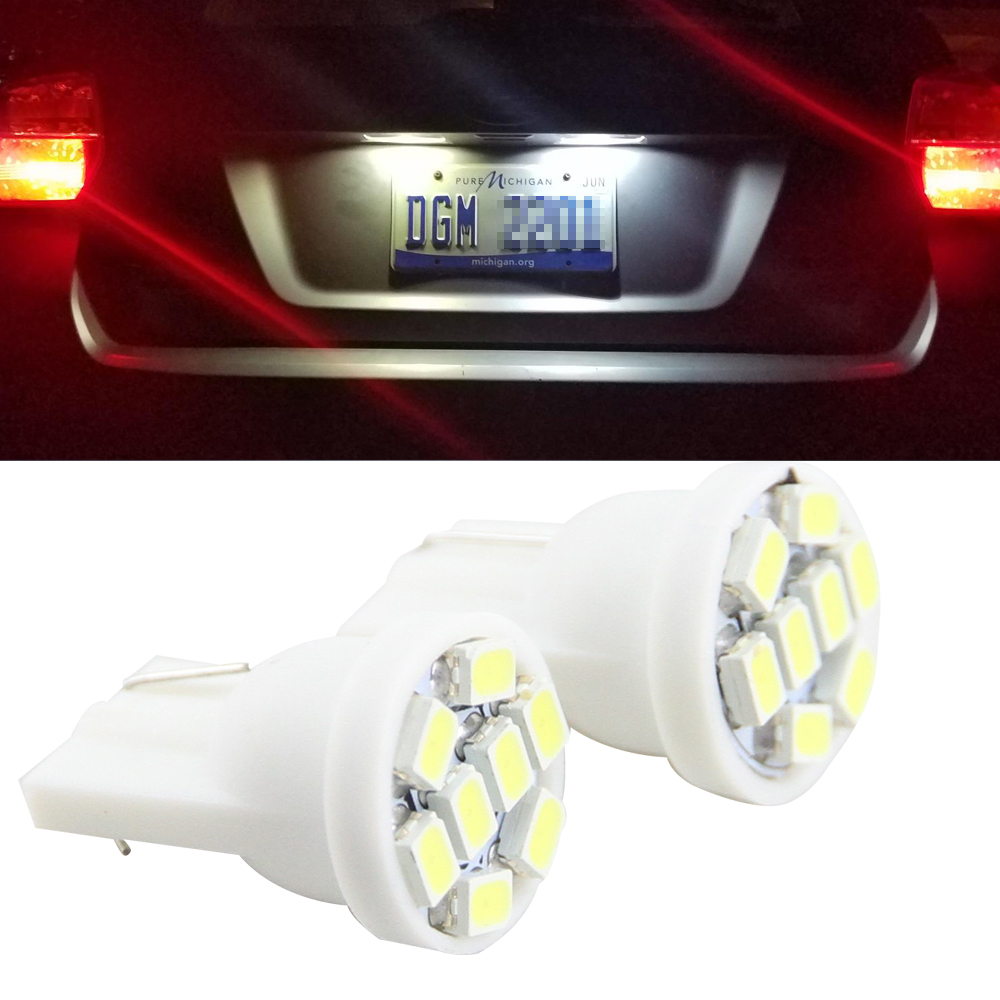 2x T10 w5w LED CANbus bombillas T10 194 168 lámpara Marcos de ...