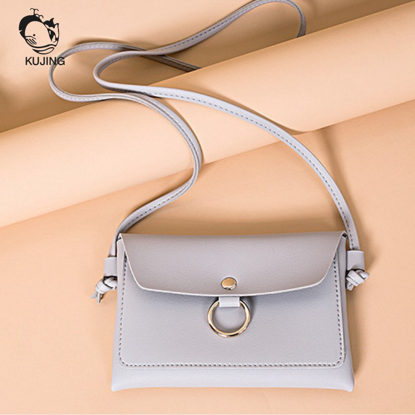 222bf53f46fe KUJING Fashion Handbags High Quality Women Shoulder Bag Mobile Phone Small  Square Bag Cheap Shopping Leisure Women Messenger Bag-in Top-Handle Bags  from ...