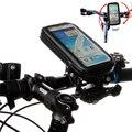 Мотоцикл Велосипед Велоспорт GPS Мешок Мобильного Телефона Держатель Для 3.5 дюймов до 6.3 дюймов Водонепроницаемый Мешок для Galaxy Note7 Note5 S6 edge +