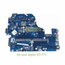 NOKOTION mère d'ordinateur portable pour Acer aspire E5-571 NVIDIA GeForce GT840M I5-5200U CPU A5WAH LA-B991P NBMLC11007 NB. MLC11.007