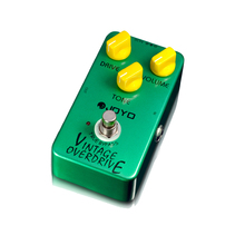JOYO JF-01 Vintage Overdrive Effect Pedal high-gain overdrive high-power drive booster tube overload stompbox true bypass