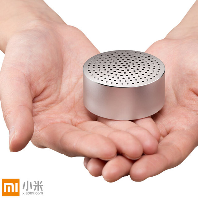 Original Xiaomi Portátil Mini Altavoces Bluetooth Smart Wireless Speaker Manos Libres de Acero de Metal