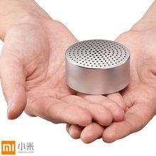 Original Xiaomi Portable Mini Bluetooth Speakers Metal Steel Wireless Smart Hands Free Speaker