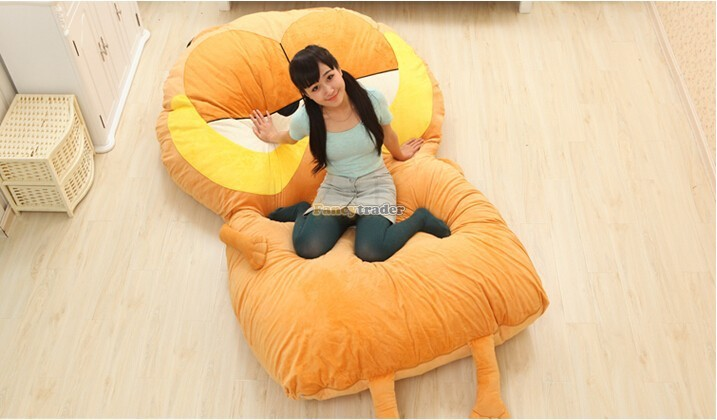 Fancytrader 220cm X 150cm Huge Giant Cute Garfield Bed Carpet Sofa Tatami, Great Gift! Free Shipping FT90351 (2)