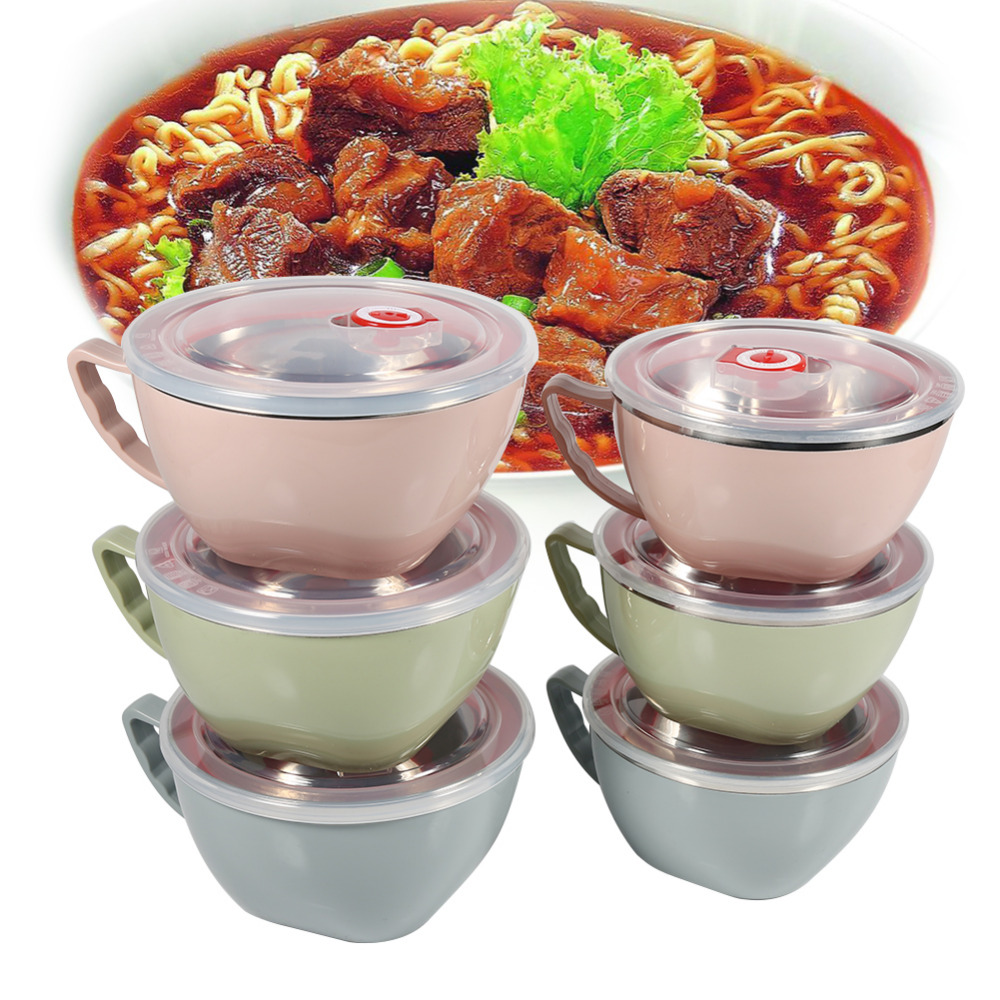 Online Get Cheap Double Layer Bowl Stainless Steel Bowl
