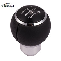 1 Set Universal Manual Car Gear Shifter Shift Manual Transmission Lever Knob Cover Leather Only Fits