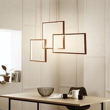 Pendant Lights LED for Living room Bedroom Aluminum Wave suspension dining coffee bar Hanging lamp