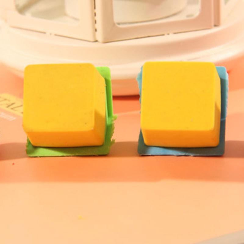 Купить с кэшбэком 2 pcs/lot lovely  house  rubber eraser creative stationery school supplies papelaria kids gift learning supplies reward