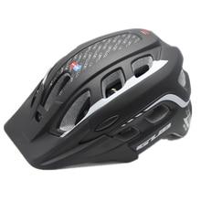 WOSAWE MTB Road Bicycle Racing Cycling PC+EPU Integrally-Molded Helmet 55~61cm Bike Helmet with Visor