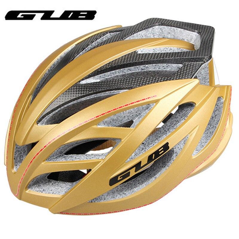 GUB SV9X Bicycle Helmet Integrally-molded Carbon Fiber Mountain Road Bike Riding Helmet Hat Cycling Equipment for Men Women promend mountain bike riding helmet integrated safety hat road cycling equipment for men and women
