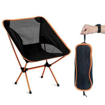 Ultralight Folding Chairs Superhard High Load Outdoor Camping Chair Portable Beach Travel Hiking Picnic Seat Fishing Tools Chair