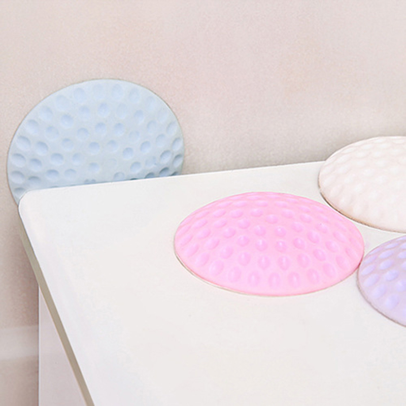 1/Pcs Baby Anti-collision Cushion Rubber Mat Protective Mute Doorknob  Safety Lock Viscose Pad Kids Protection Accessories