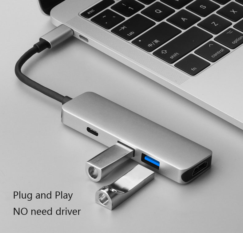 USB 3.1 Type C to 4K HDMI TV Projector Video Adapter Charging Converter USB 3.0 HUB for MacBook For Samsung Galaxy S8+ S9+ Note8 usb 3 1 type c to 4k hdmi tv projector video adapter charging converter usb 3 0 hub for macbook for samsung galaxy s8 s9 note8