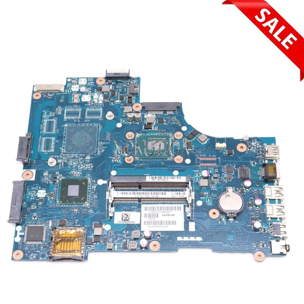 NOKOTION VAW00 LA-9104P CN-06H8WV 06H8WV 6H8WV laptop motherboard For board inspiron 15 3521 5521 SR109 Celeron 1007U Main boardNOKOTION VAW00 LA-9104P CN-06H8WV 06H8WV 6H8WV laptop motherboard For board inspiron 15 3521 5521 SR109 Celeron 1007U Main board