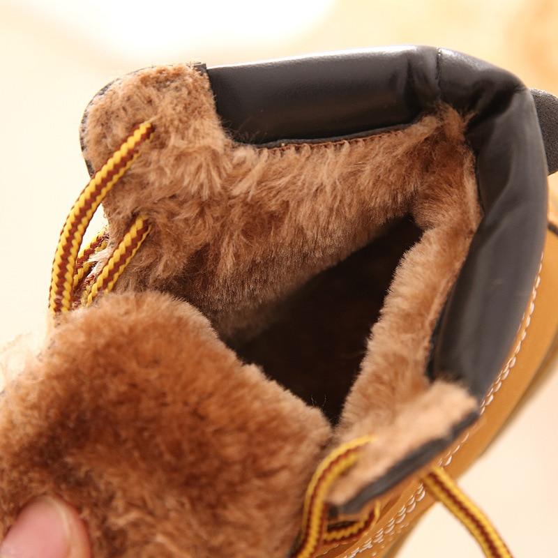 Νέα μόδα χειμωνιάτικα μπότες μωρών - Υποδήματα για μικρά παιδιά - Φωτογραφία 6