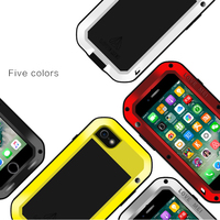 Love Mei Armored Hybrid Cover Waterproof Case For IPhone 7 4 7 Inch Fundas Shell Housing