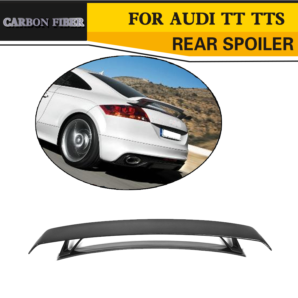1ccf371671b2 Rear Trunk Spoiler for Audi TT MK2 8J TTS Coupe 2 Door Only 2008-2014  Quattro