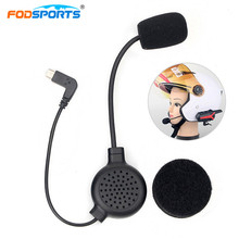 Fodsports Intercom Headphone Earpiece for X3 Plus Bluetooth Helmet Headsets Interphone Stereo Earphone