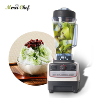 BPA бесплатно 2L коммерческих смеситель блендер соковыжималка фрукты овощи электрические Еда процессор машина Smoothie Maker