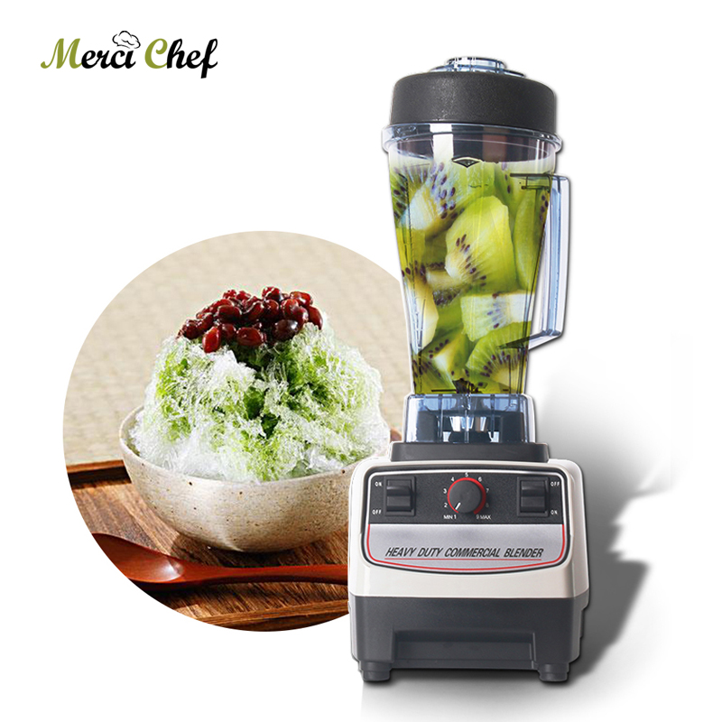 все цены на BPA FREE 2L Commercial Mixer Blender Juicer Fruit Vegetable Electrical Food Processor Machine Smoothie Maker онлайн